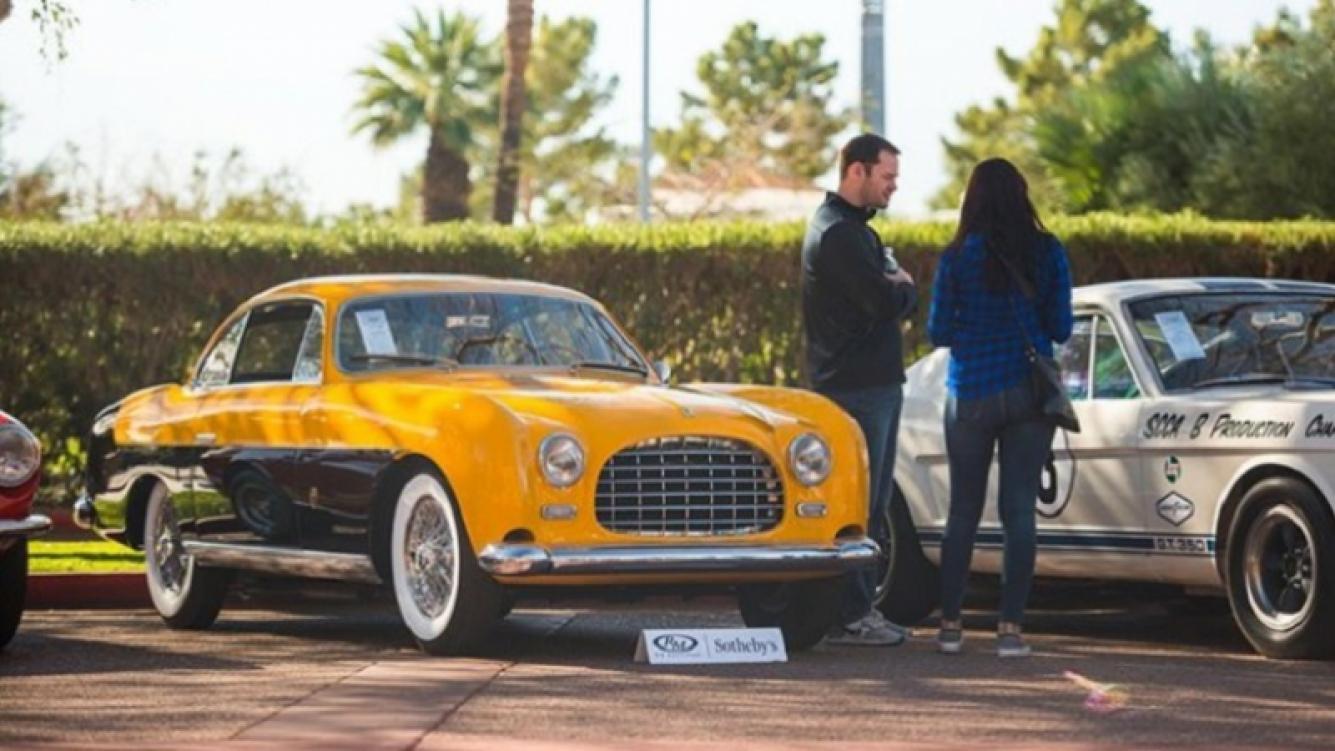 Ferrari del ex presidente Perón fue vendido en Estados Unidos
