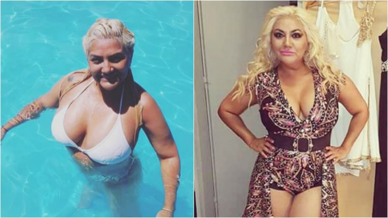 Gladys La Bomba Tucumana lució con orgullo sus súper curvas en bikini y en el agua: Verano en Carlos Paz