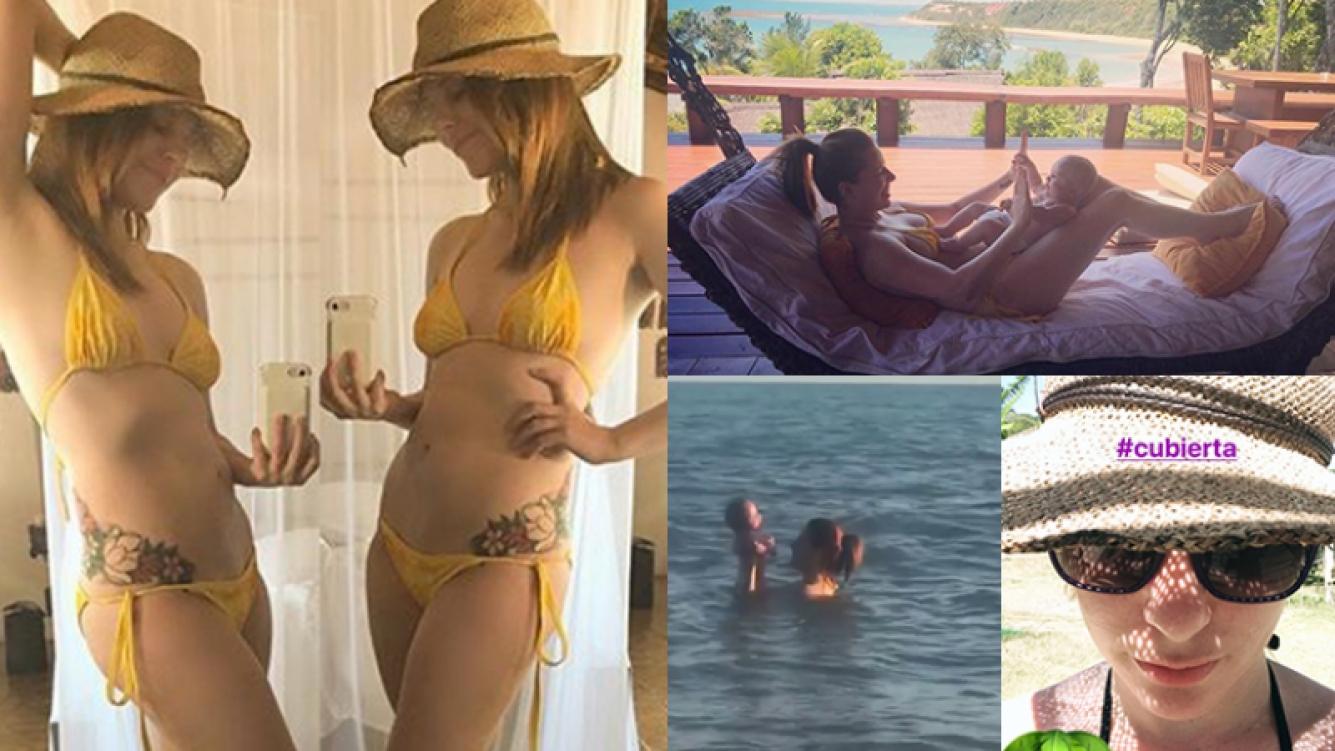 El video de Agustina Kämpfer y su bebé que generó tremenda polémica