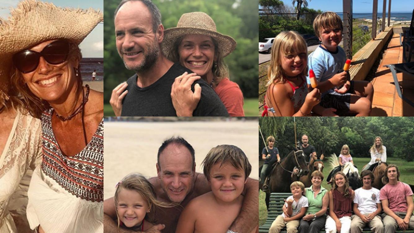 Maru Botana disfrutó de sus vacaciones familiares.