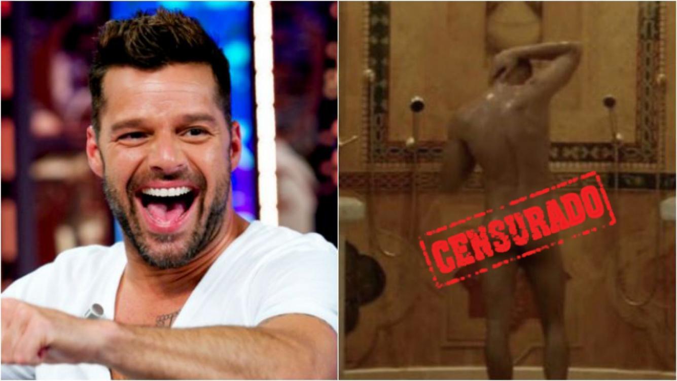 Filtran imagen de Ricky Martin desnudo