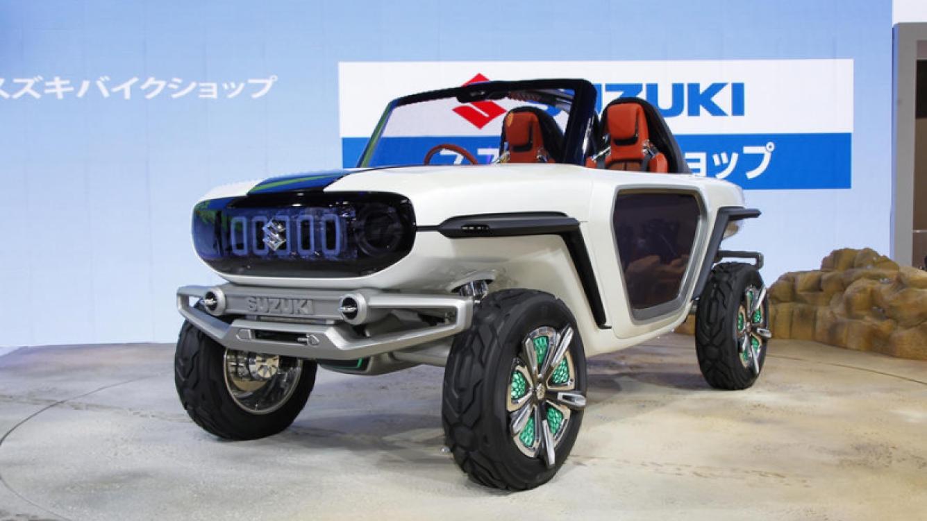 Suzuki e-Survivor se presentará en la Auto Expo 2018