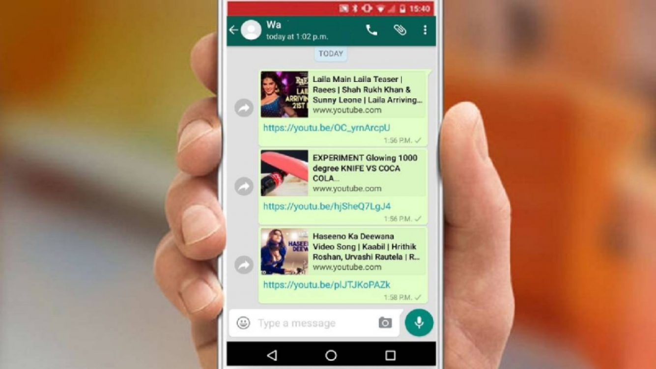 Ya podés ver videos de Youtube en WhatsApp