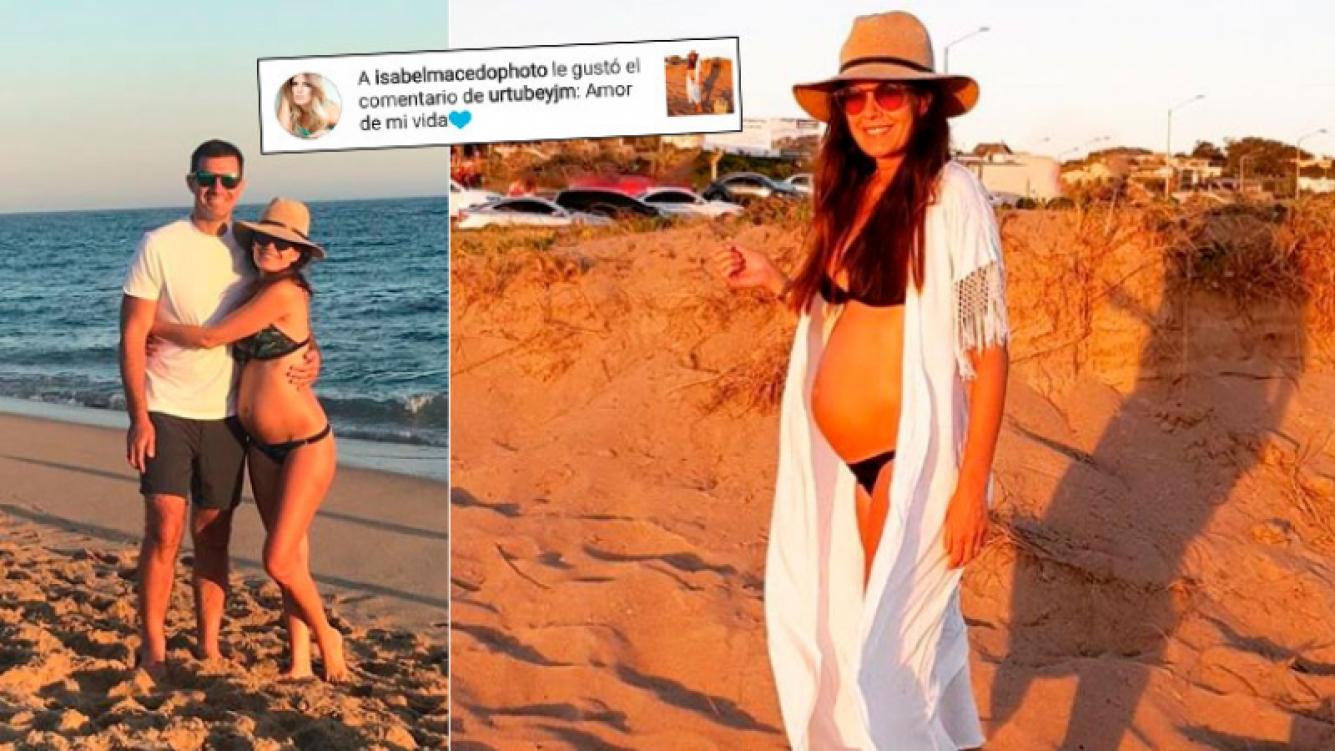 Isabel Macedo, embarazada de 5 meses