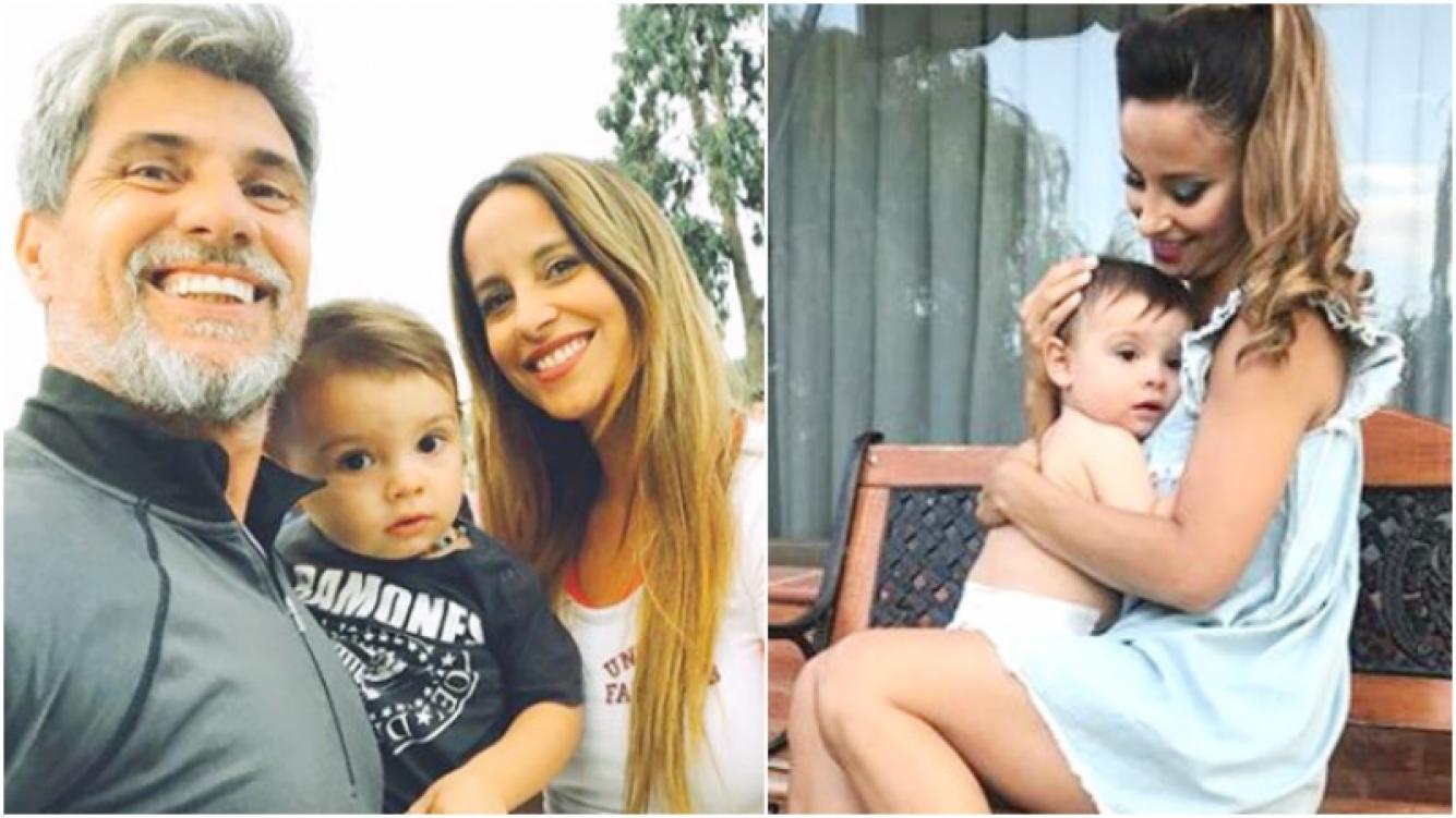 Lourdes Sánchez y la posibilidad de agrandar la familia junto al Chato Prada (Fotos: Instagram)