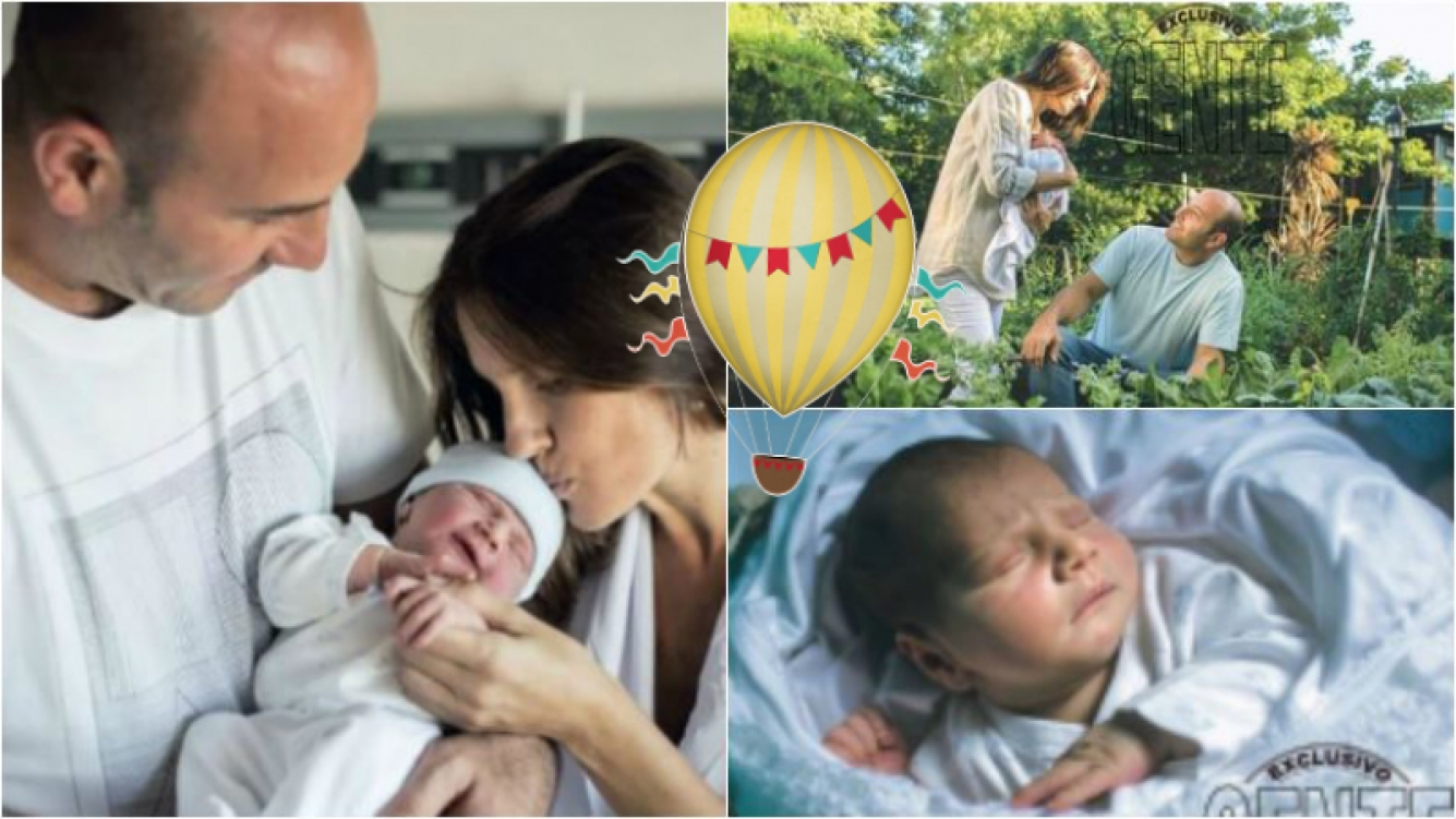 Martiniano Molina presentó a Pedro, su hijo recién nacido: Se movió mucha energía cuando nació, fue un parto...