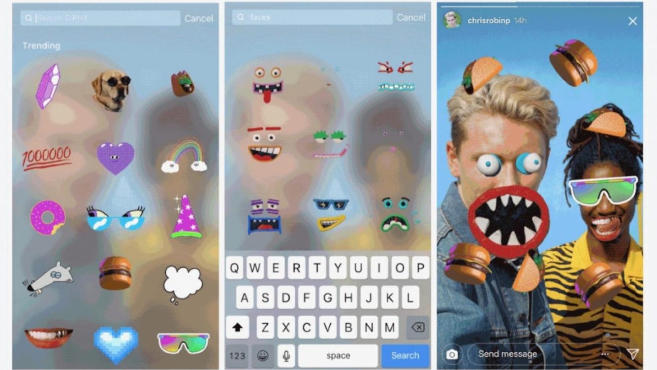 Ya están disponibles los GIFs en Instagram Stories