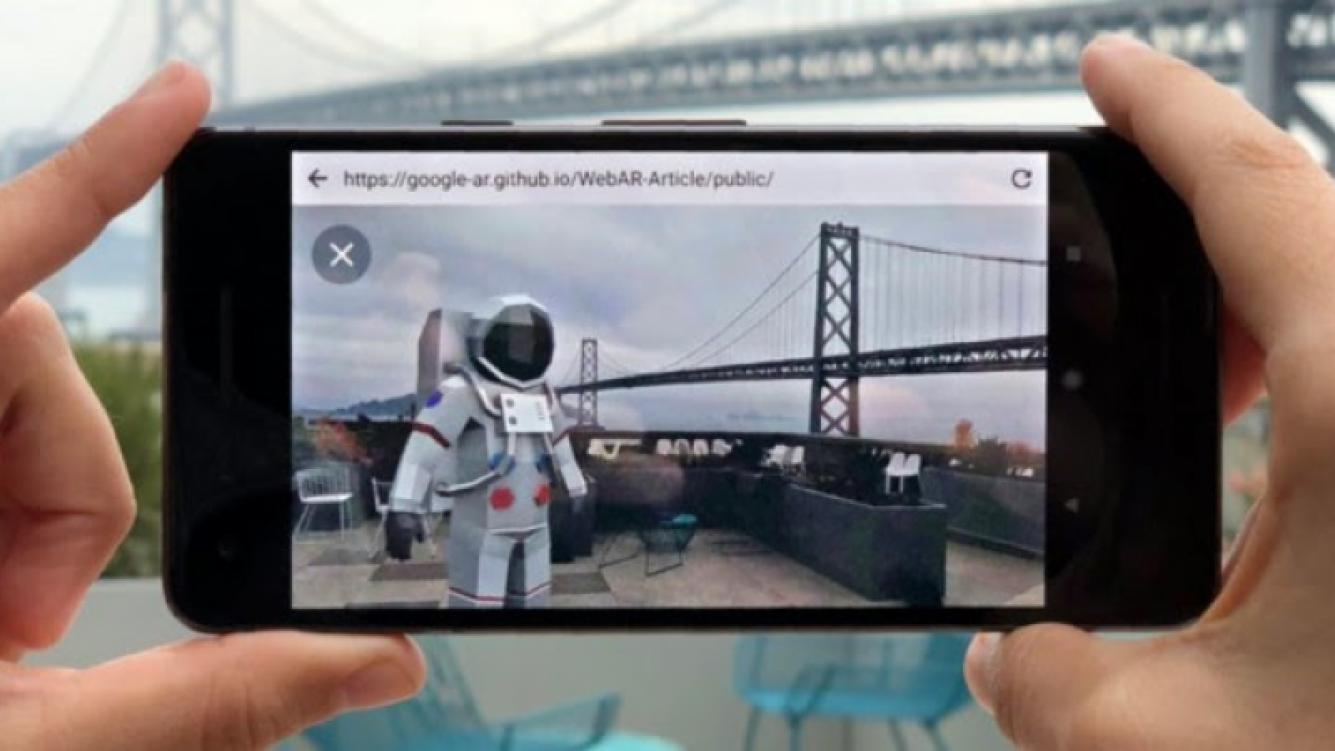 Realidad Aumentada está próxima a Google Chrome