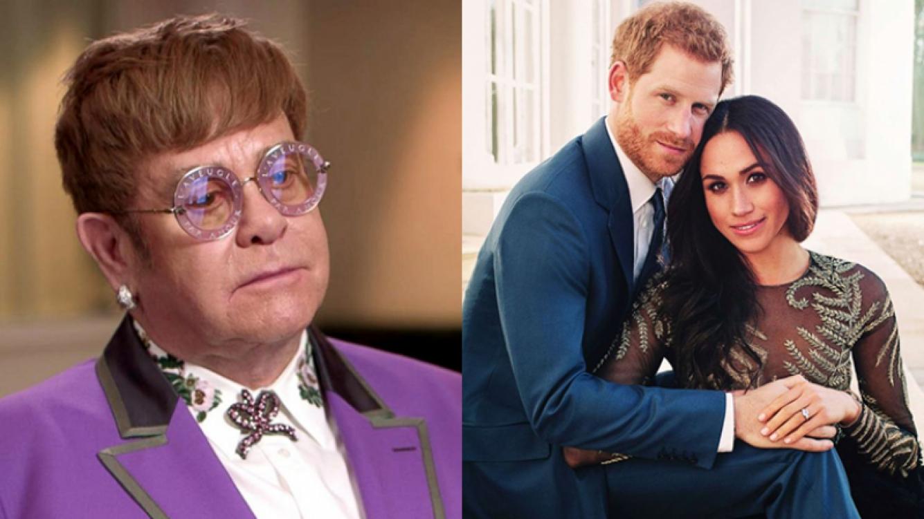 Elton John, sobre el compromiso del príncipe Harry: Está totalmente enamorado