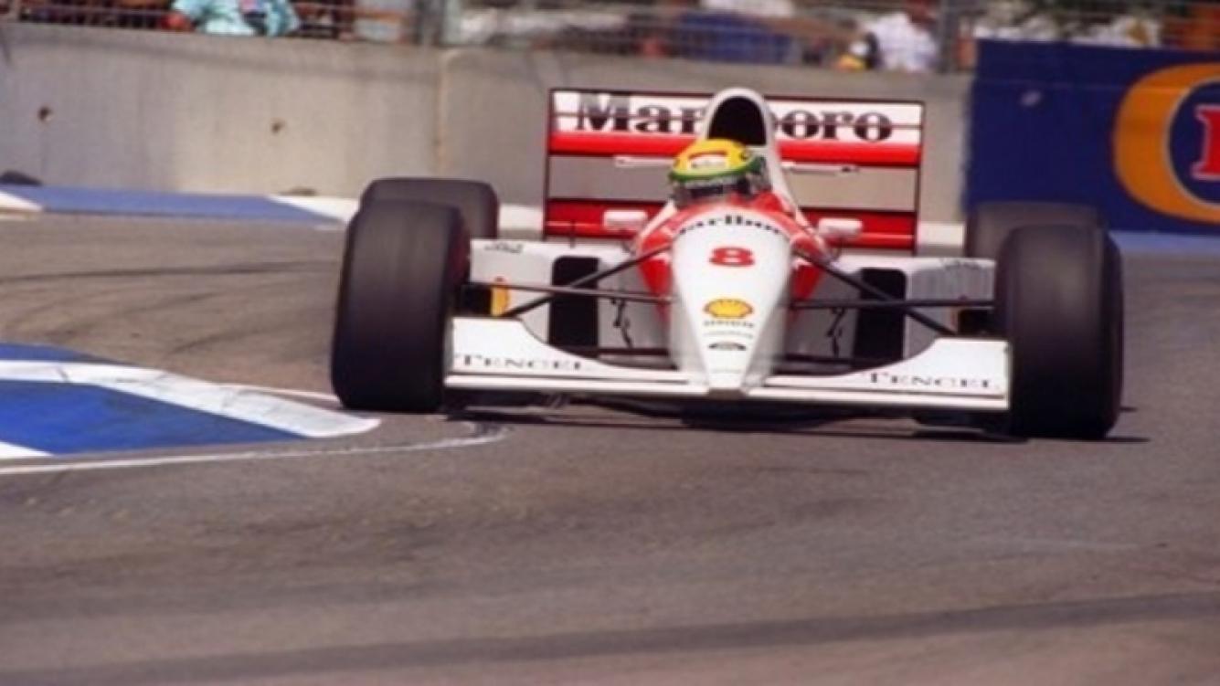 Subastarán el McLaren del brasileño Ayrton Senna
