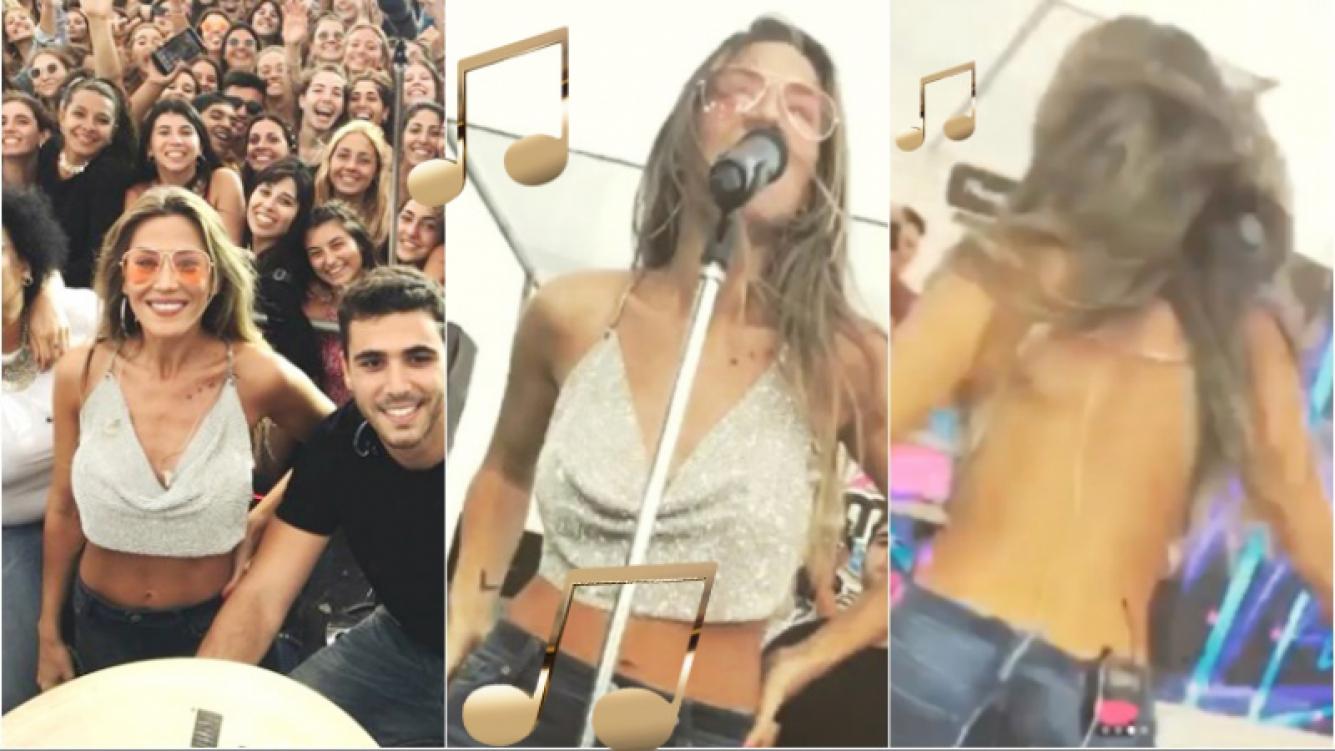 Jimena Barón la rompió en Mar del Plata... ¡con un look ultra sensual! (Fotos: Instagram)