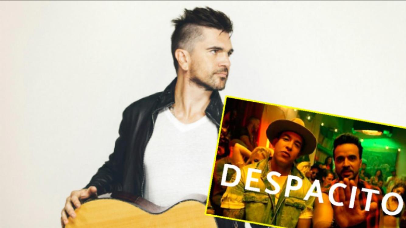 El deseo de Juanes sobre Despacito, el hit del año (Fotos: Web)