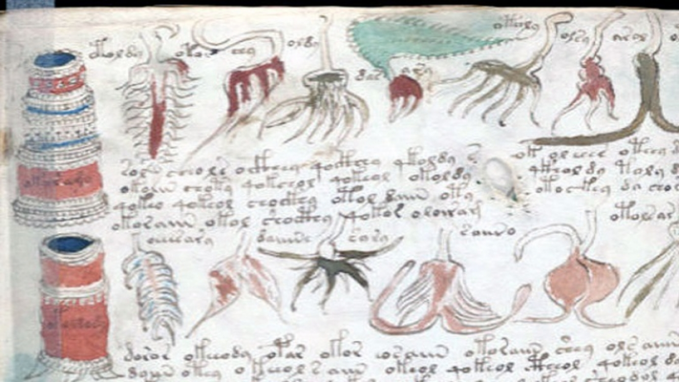 Científicos descifraron el códice Voynich con inteligencia artificial