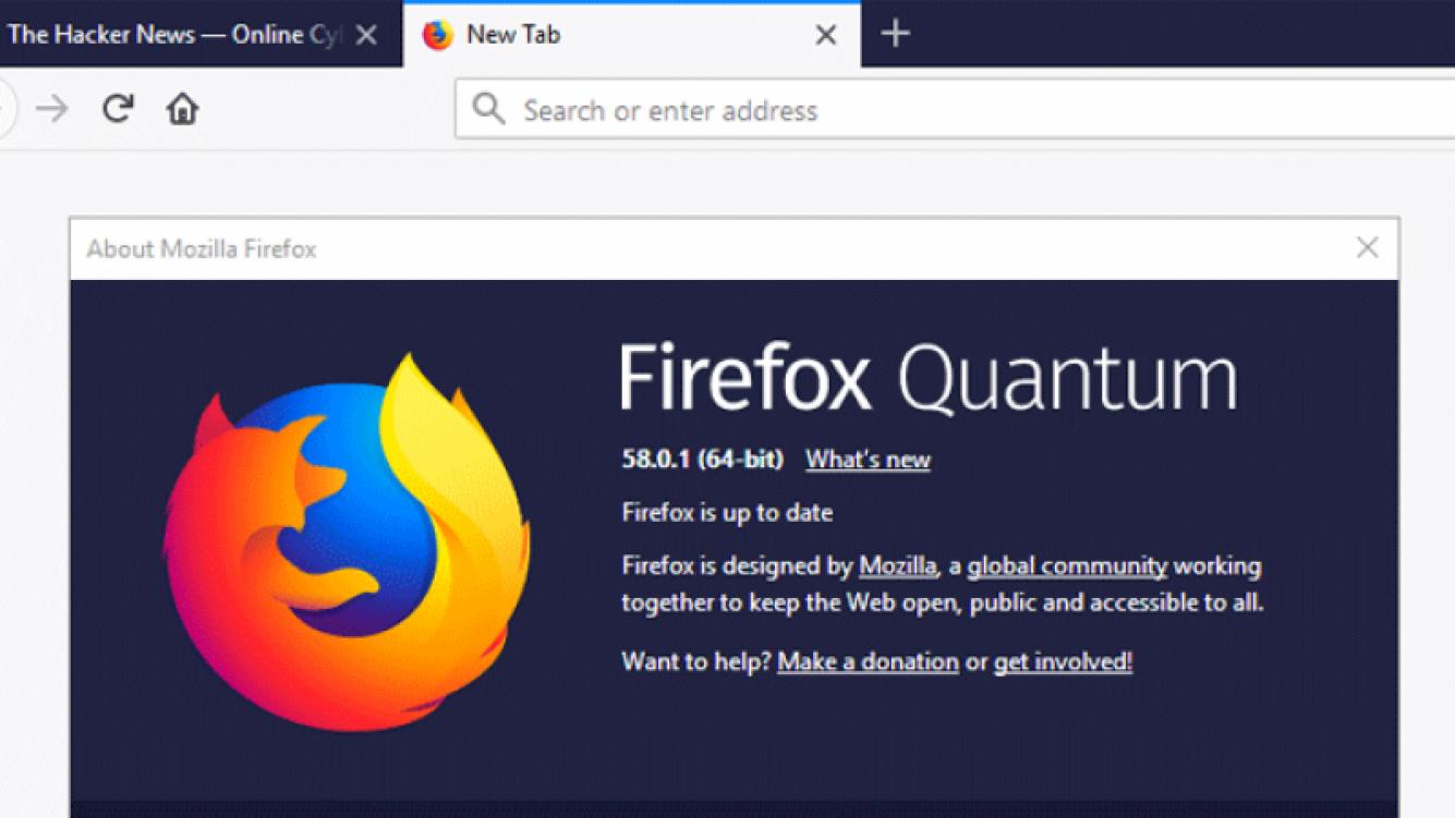 Actualización urgente de Firefox 58 elimina vulnerabilidades
