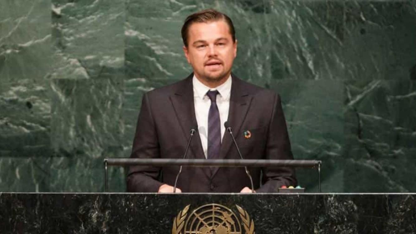 Conocé la faceta de Leonardo DiCaprio como defensor del medio ambiente