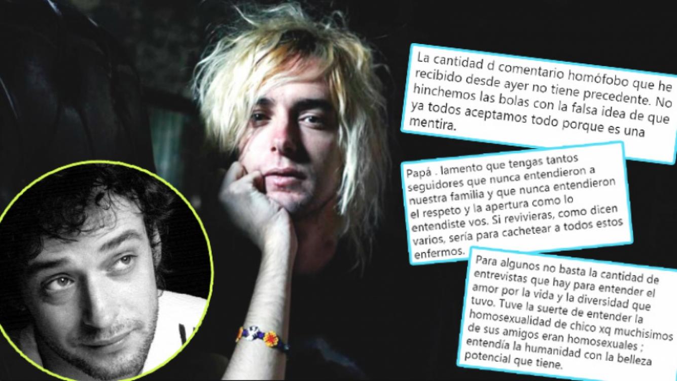 El fuerte descargo de Benito Cerati tras las críticas que recibió por confesar que es gay (Fotos: Web)