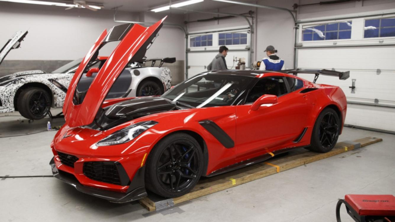 Corvette modelo ZR1 destronó a Ford GT en VIR