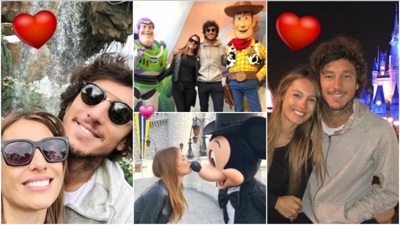 Las postales románticas de Pampita y Pico Mónaco en Orlando (Fotos: Instagram e Instagram Stories)