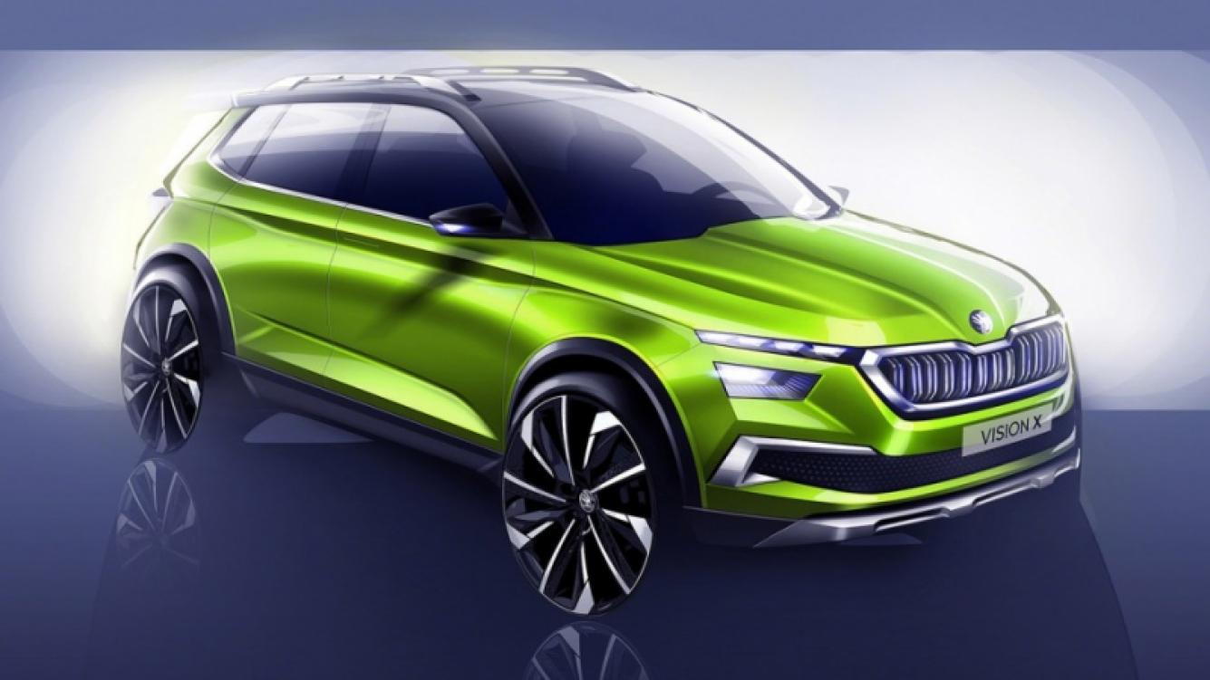 Falta poco para la presentación del SUV Skoda Vision X en Ginebra