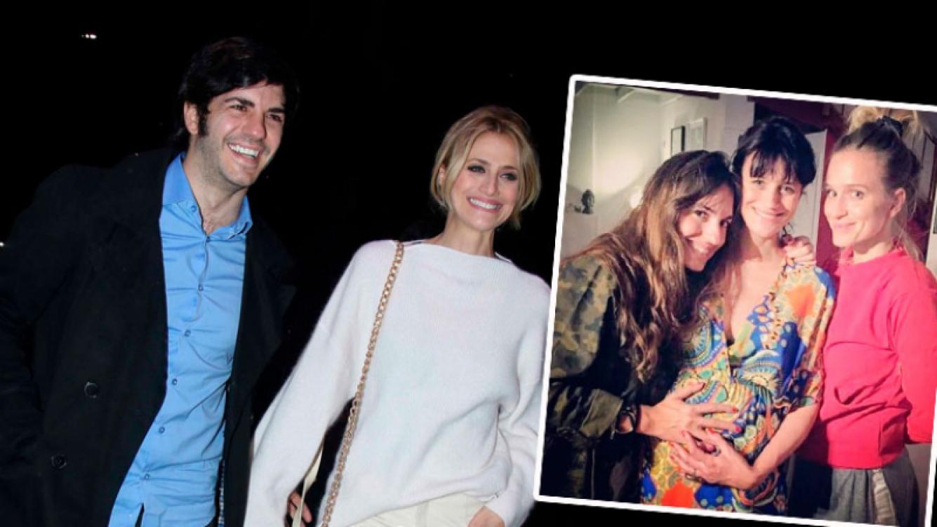 ¡Cómo creció! Mónica Antonópulos, reunión con amigas ¡y pancita maternal súper tierna!
