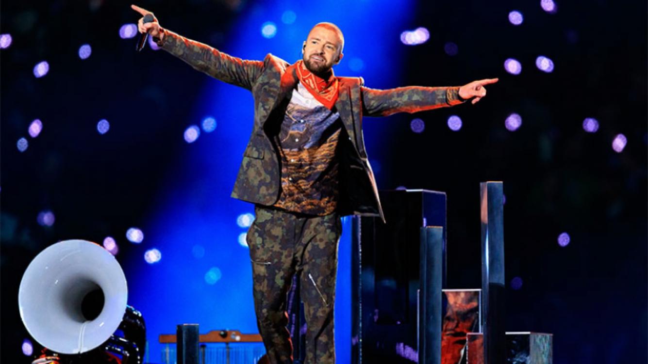 Justin Timberlake la rompió con su homenaje a Prince en el show del Super Bowl