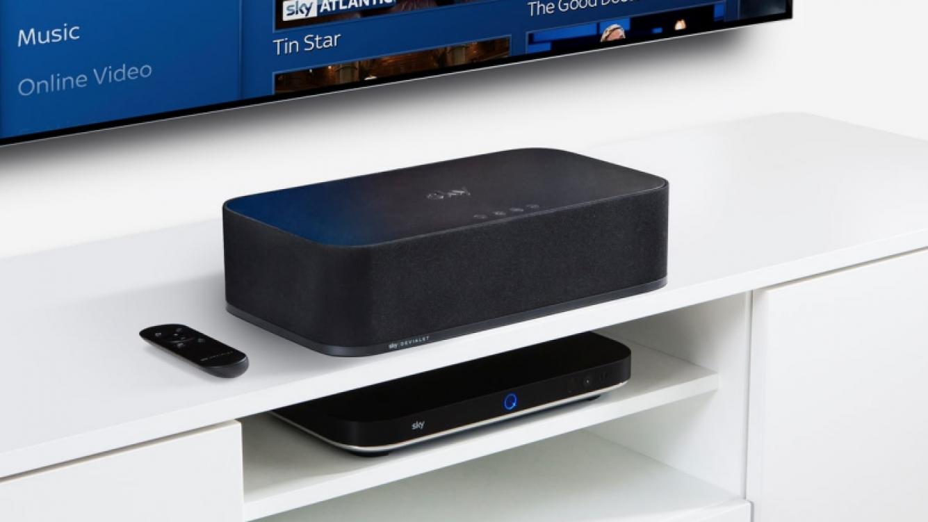 Sky Soundbox, un altavoz all-in-one que no molestará a los vecinos