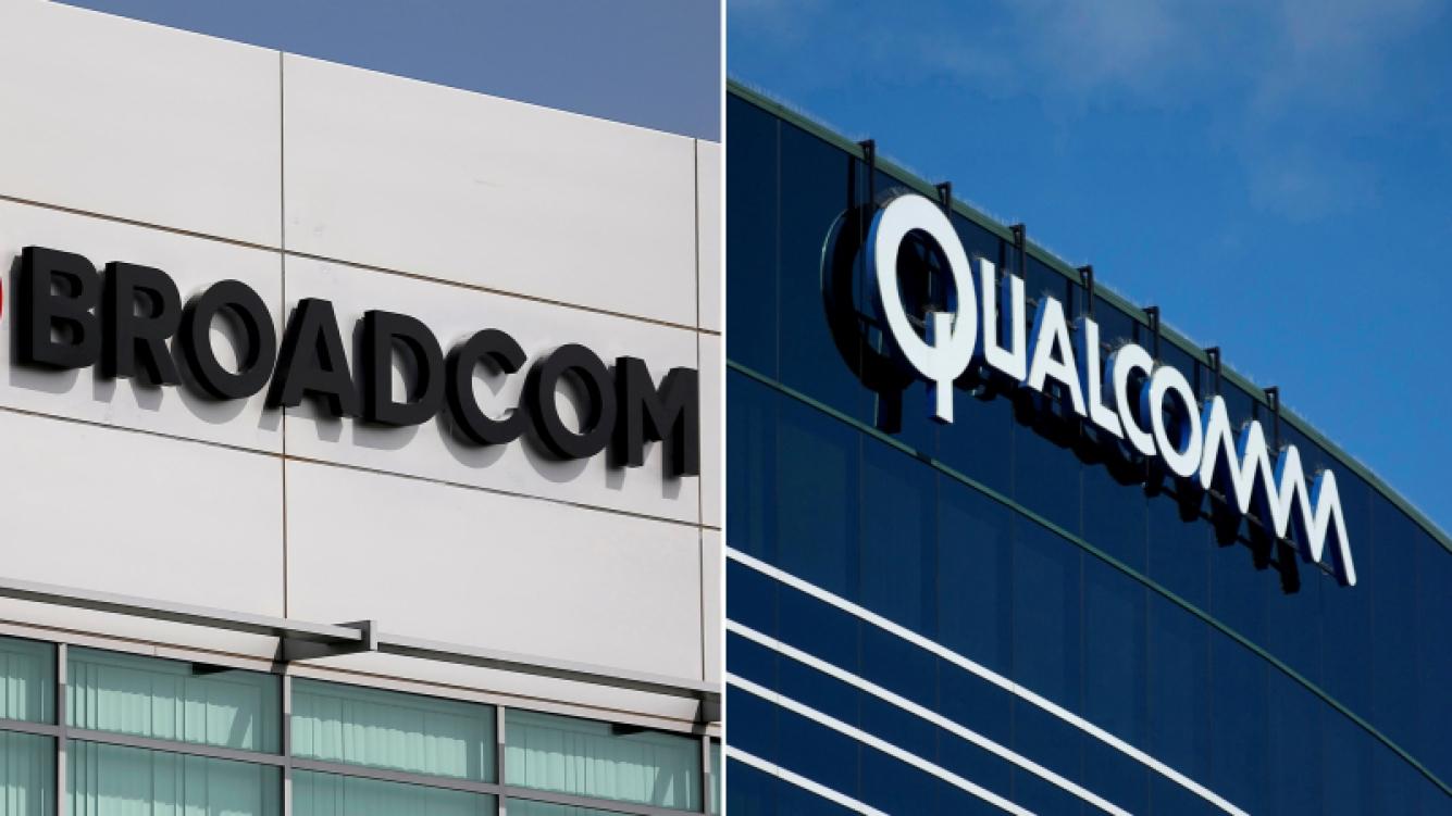 Broadcom subió su oferta para adquirir Qualcomm