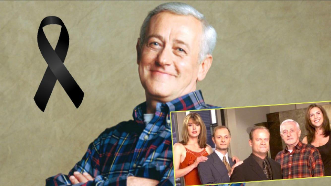 """Murió John Mahoney, el actor que hacía de padre en la serie """"Frasier"""" (Fotos: Web)"""