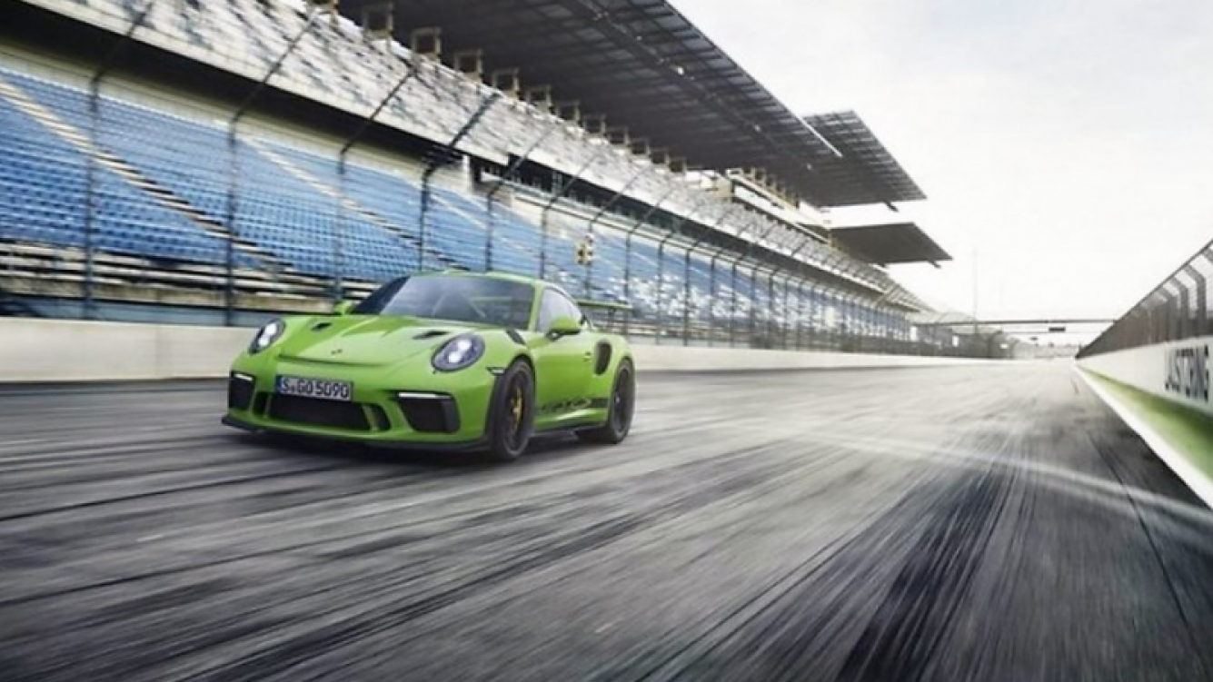Se filtró información del Porsche 911 GT3 RS 2018