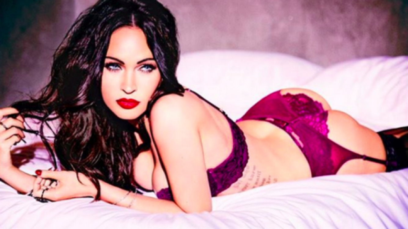 Megan Fox levanta pasiones con sus fotos hot en lencería