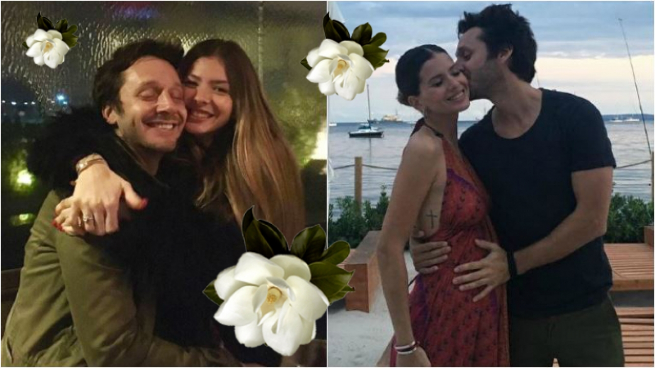 La hija de Benjamín Vicuña y la China Suárez se llama Magnolia