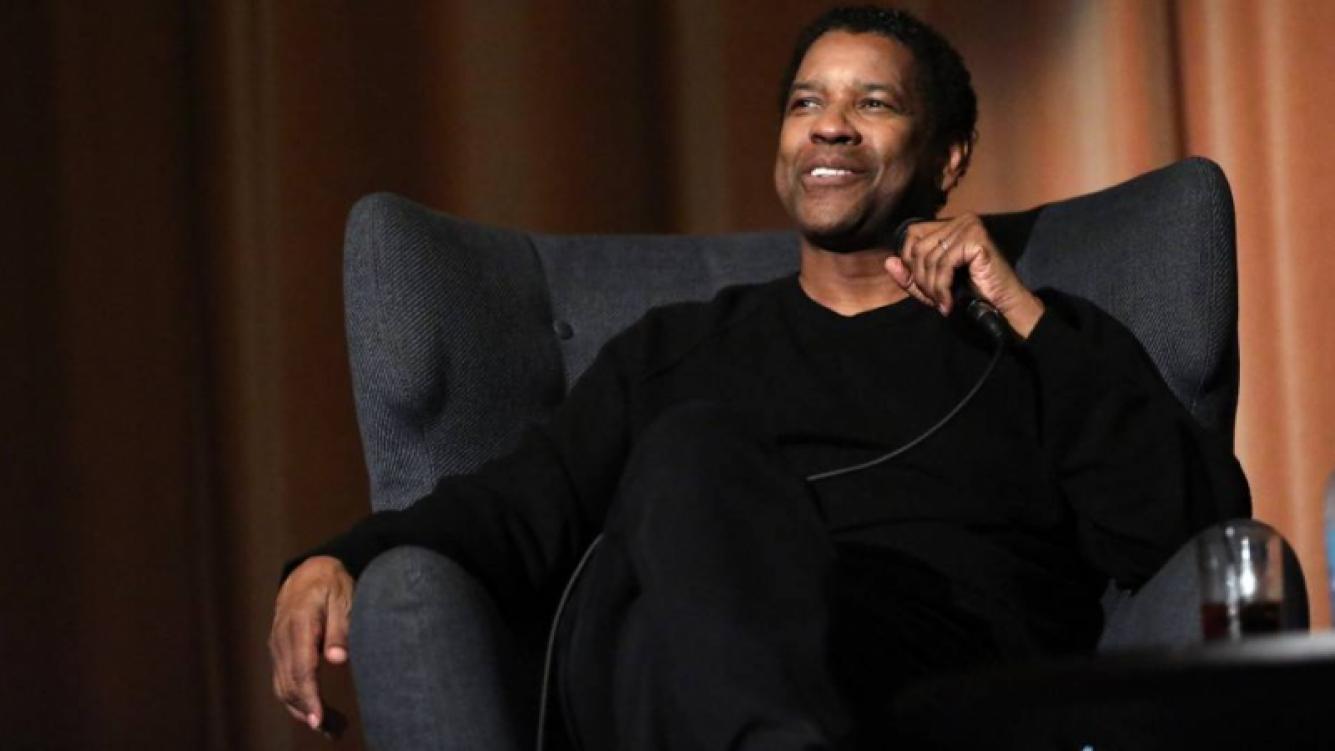 Los seguidores de Denzel Washington descubrieron su muletilla preferida