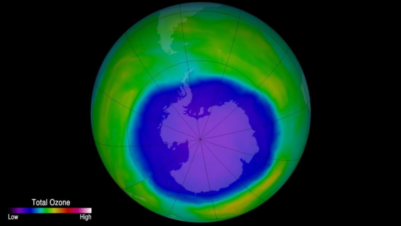 Puntos claves de la capa de ozono siguen sin restituirse