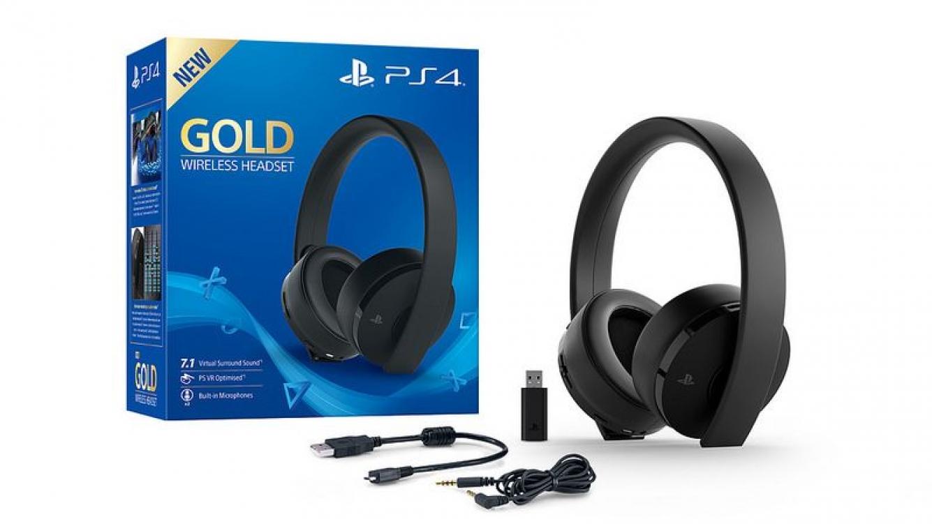 Sony tiene un nuevo auricular inalámbrico para la PS4