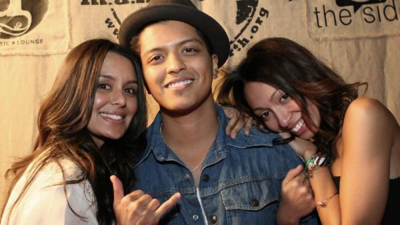 Bruno Mars nació en un auténtica familia musical