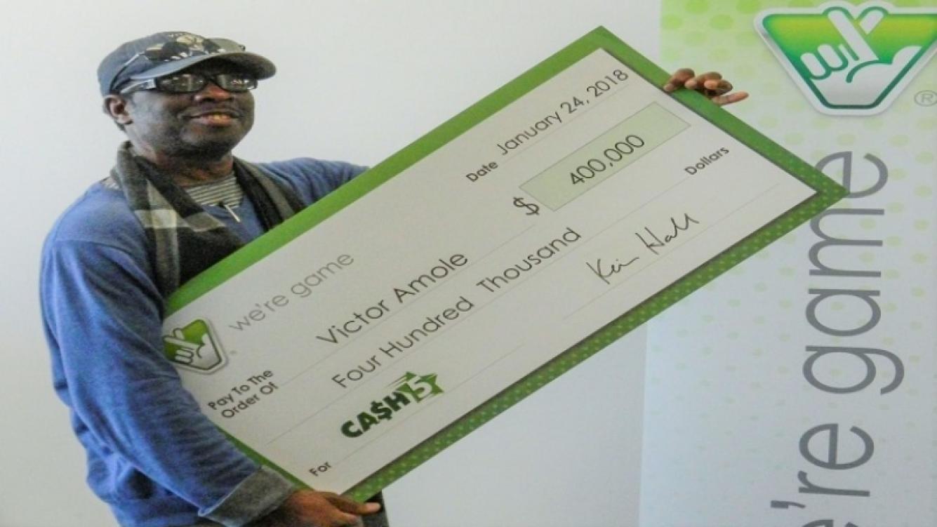 Por un sueño se ganó 400 mil dólares en la lotería