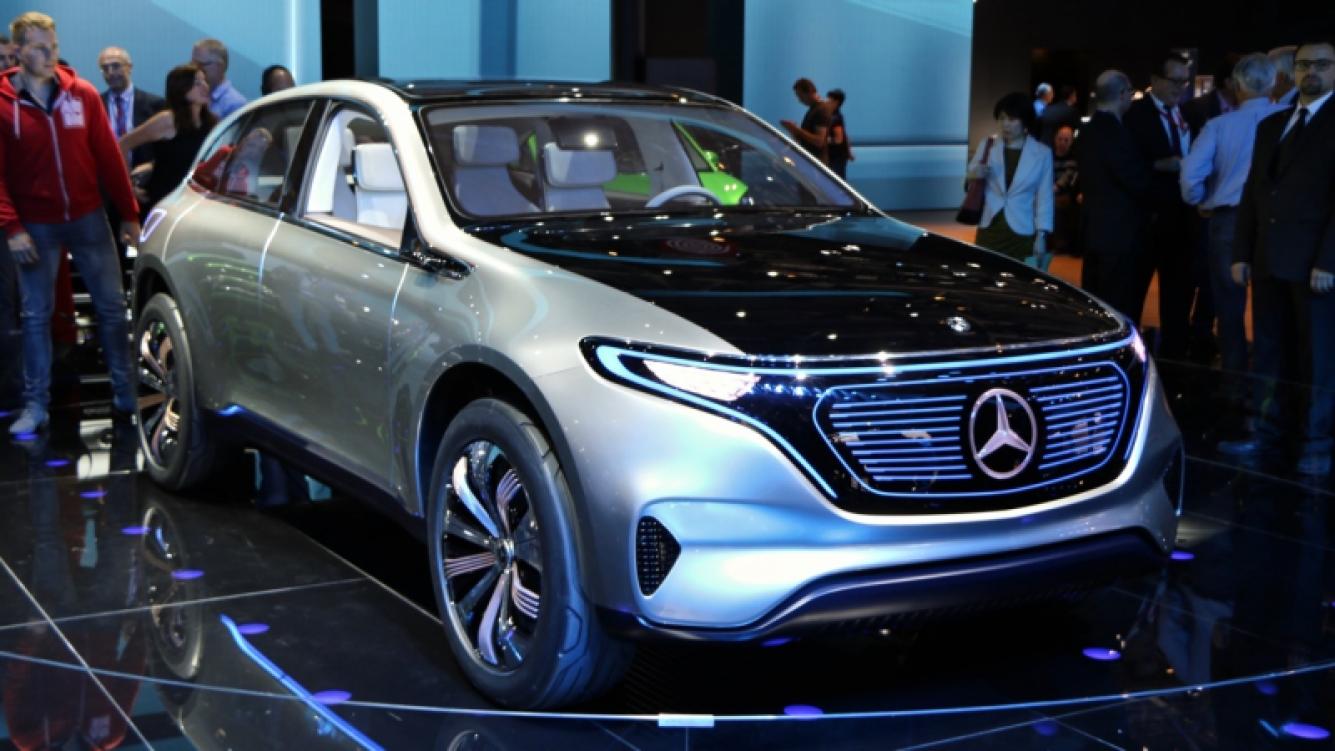Presentaron el Mercedes-Benz Concept EQ en Auto Expo de la India
