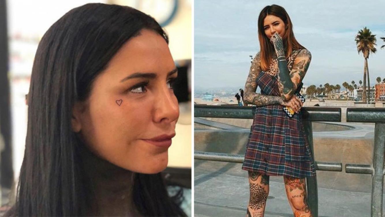 Candelaria Tinelli estrenó tatuaje en la cara: ¡mirá la foto!