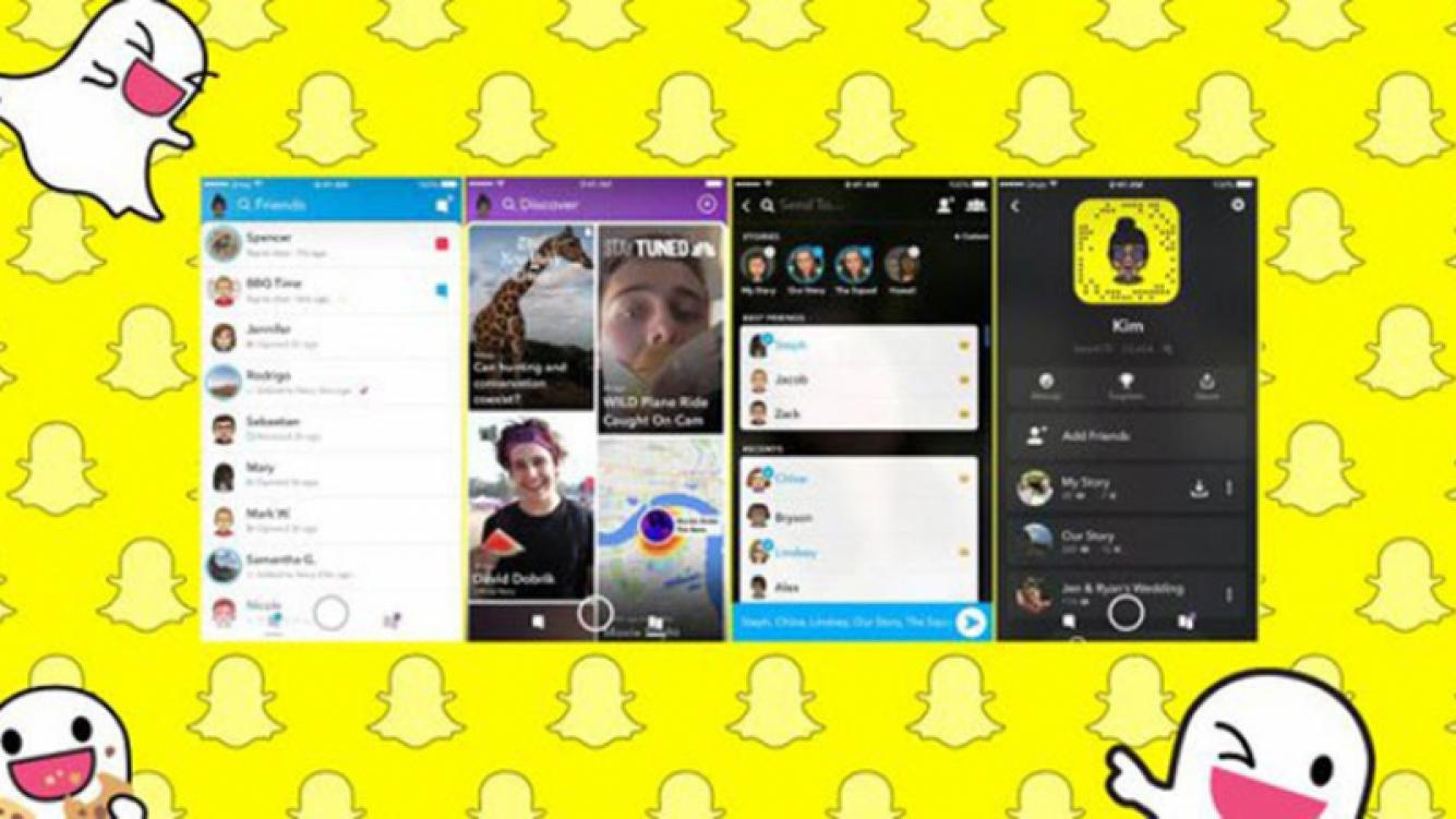 Miles de usuarios rechazaron la nueva actualización de Snapchat