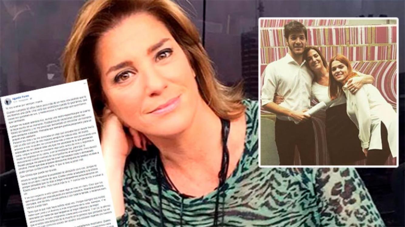 La emotiva carta del hijo de Débora Pérez Volpín