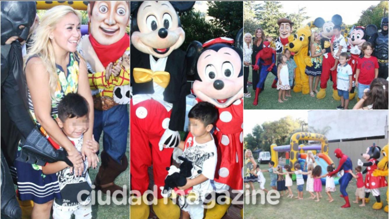 Las fotos del cumpleaños de Dieguito Fernando Maradona organizado por Verónica Ojeda (Fotos: Movilpress)