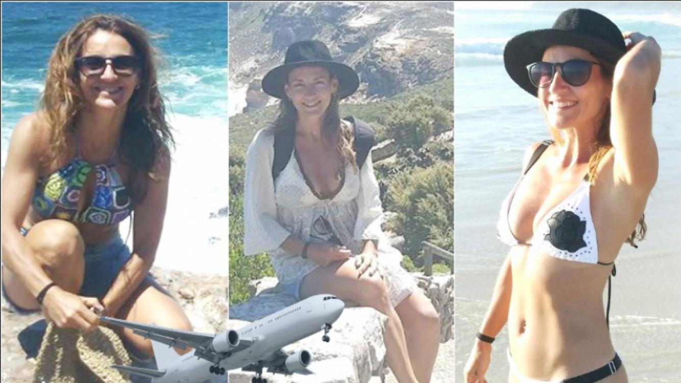 El álbum de las exóticas vacaciones de Eleonora Wexler en África: lomazo en bikini y paisajes paradisíacos (Fotos: Instagram)