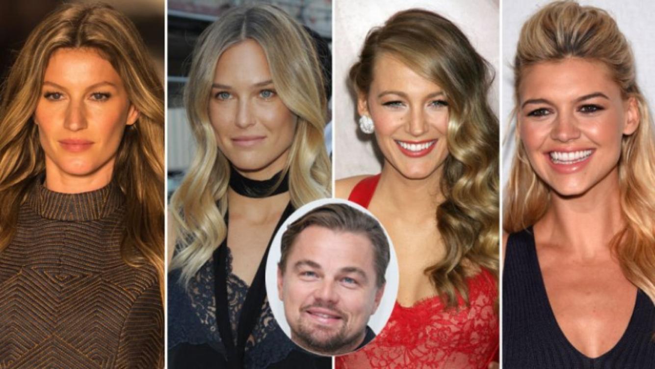 Leonardo Di Caprio tiene debilidad por las mujeres
