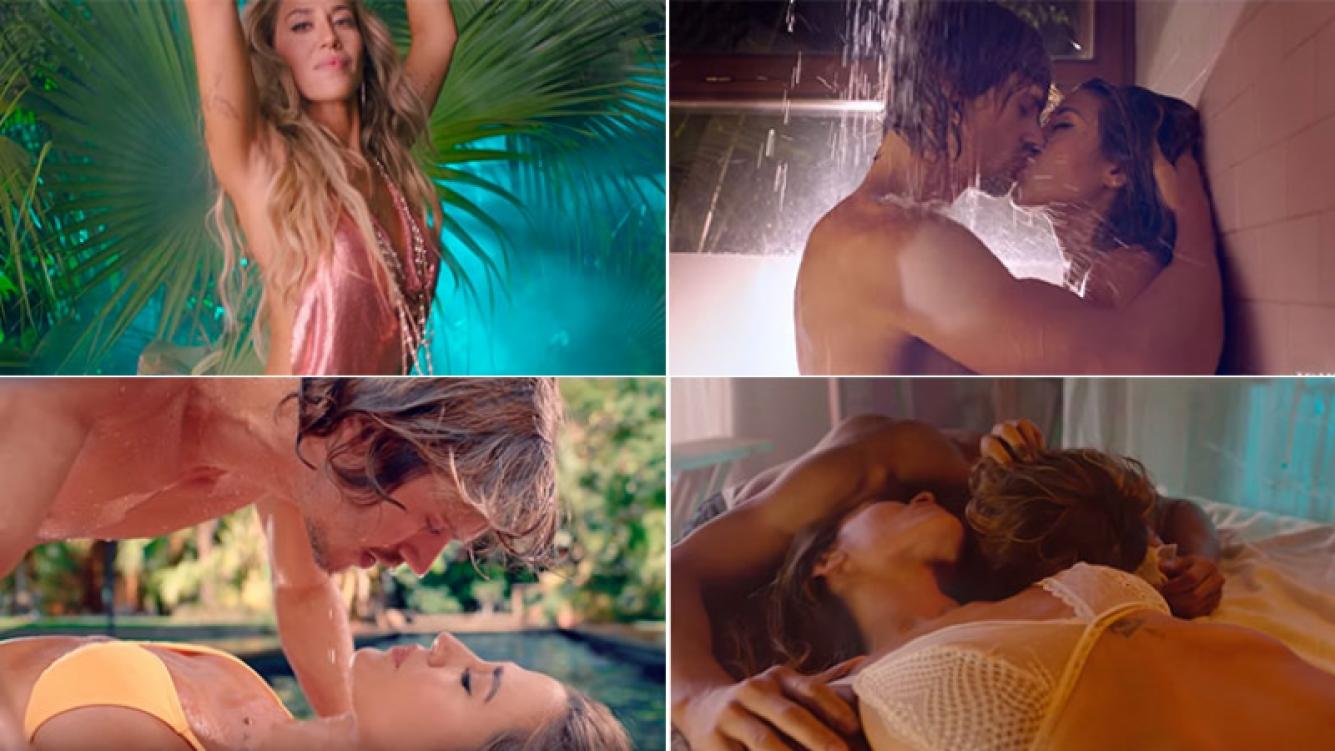 Jimena Barón, sexy y apasionada en el videoclip de Que regreses tú