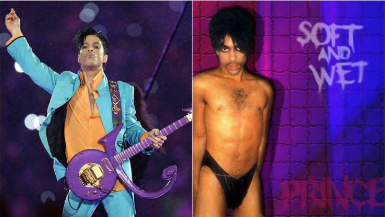 Subastan los derechos de la canción Soft and Wet de Prince en eBay