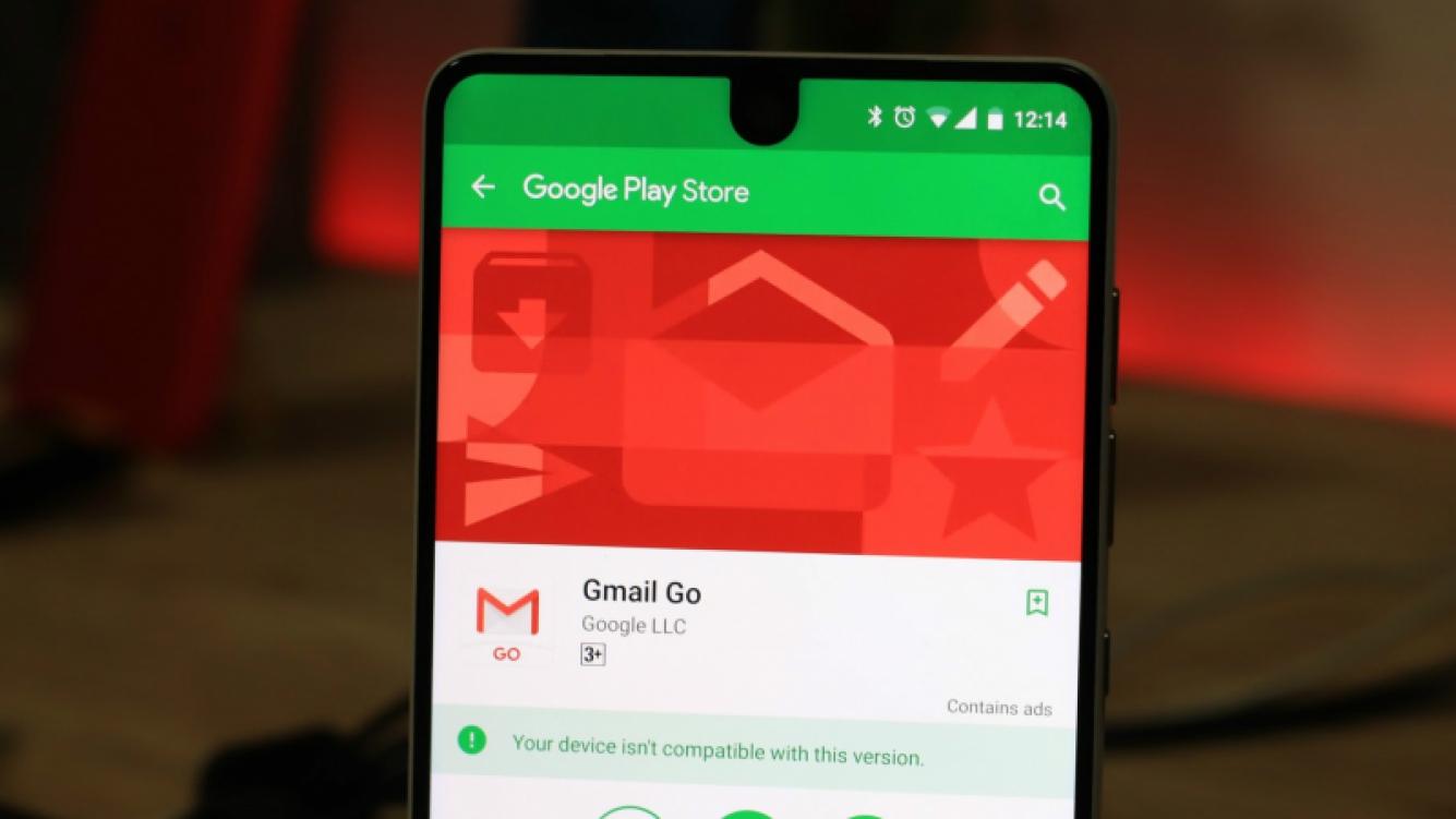 Finalmente llegó Gmail Go a la Play Store