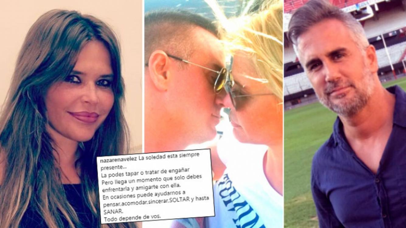 Nazarena Vélez blanqueó su romance con en Leandro Camani en San Valentín ¡y 24 horas después se separó!: su...
