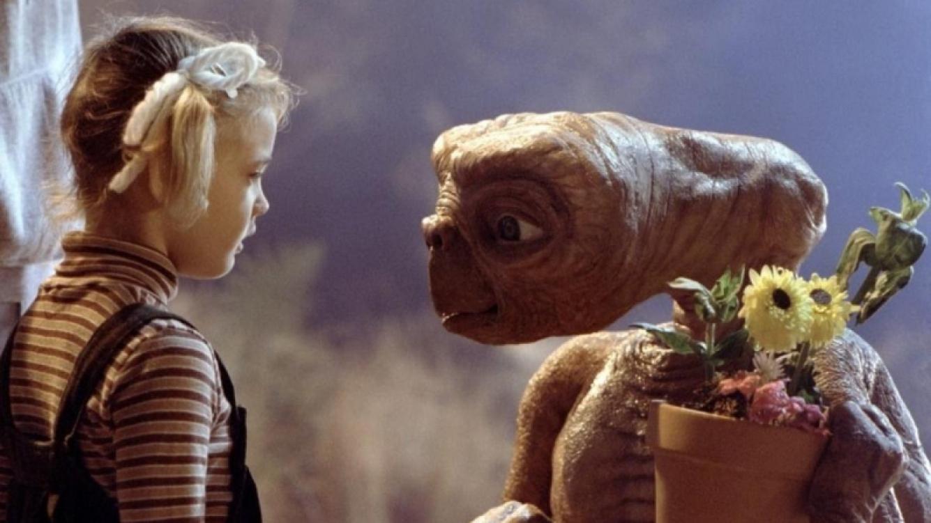 Siete datos curiosos de E.T, el éxito de Steven Spielberg