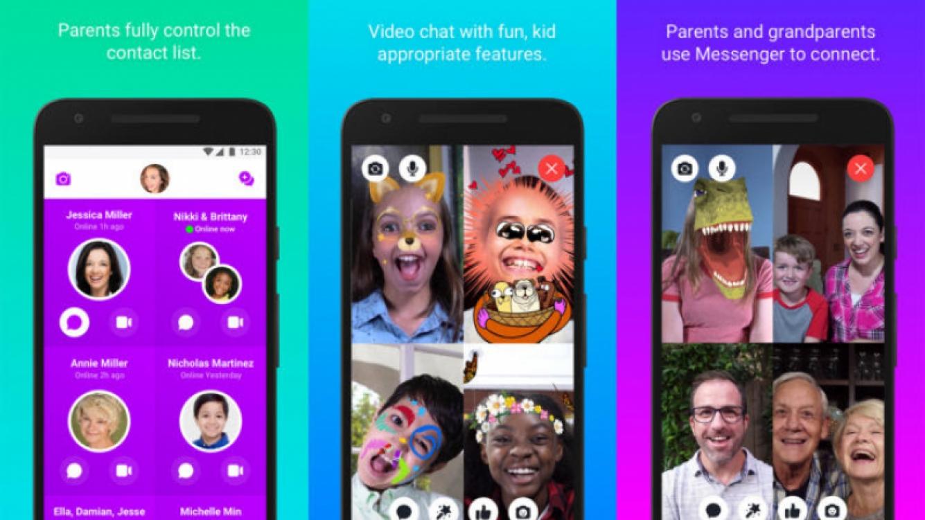 El controversial Messenger Kids llegó a Play Store