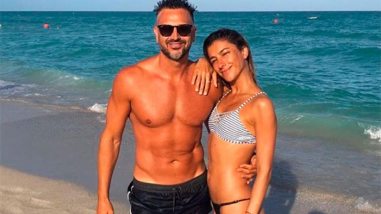 El descanso playero de Leo Montero y su mujer, Malu Tedesco